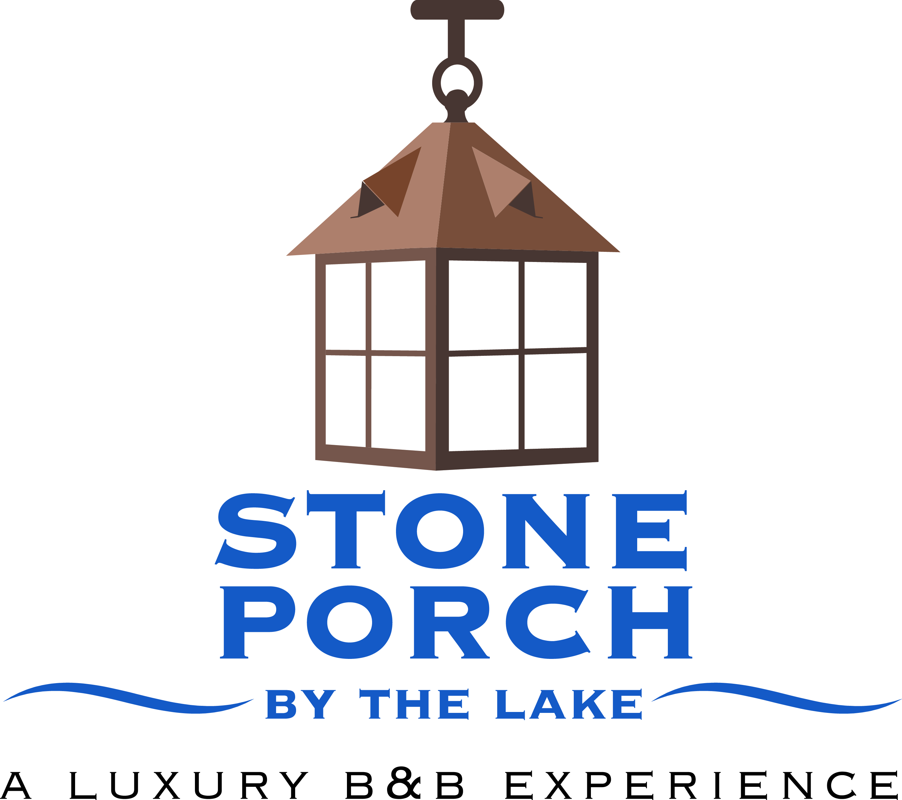 Stone Porch By The Lake logo