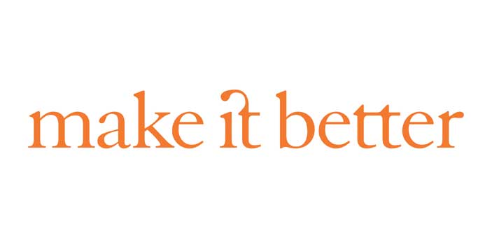 15. Make it better logo