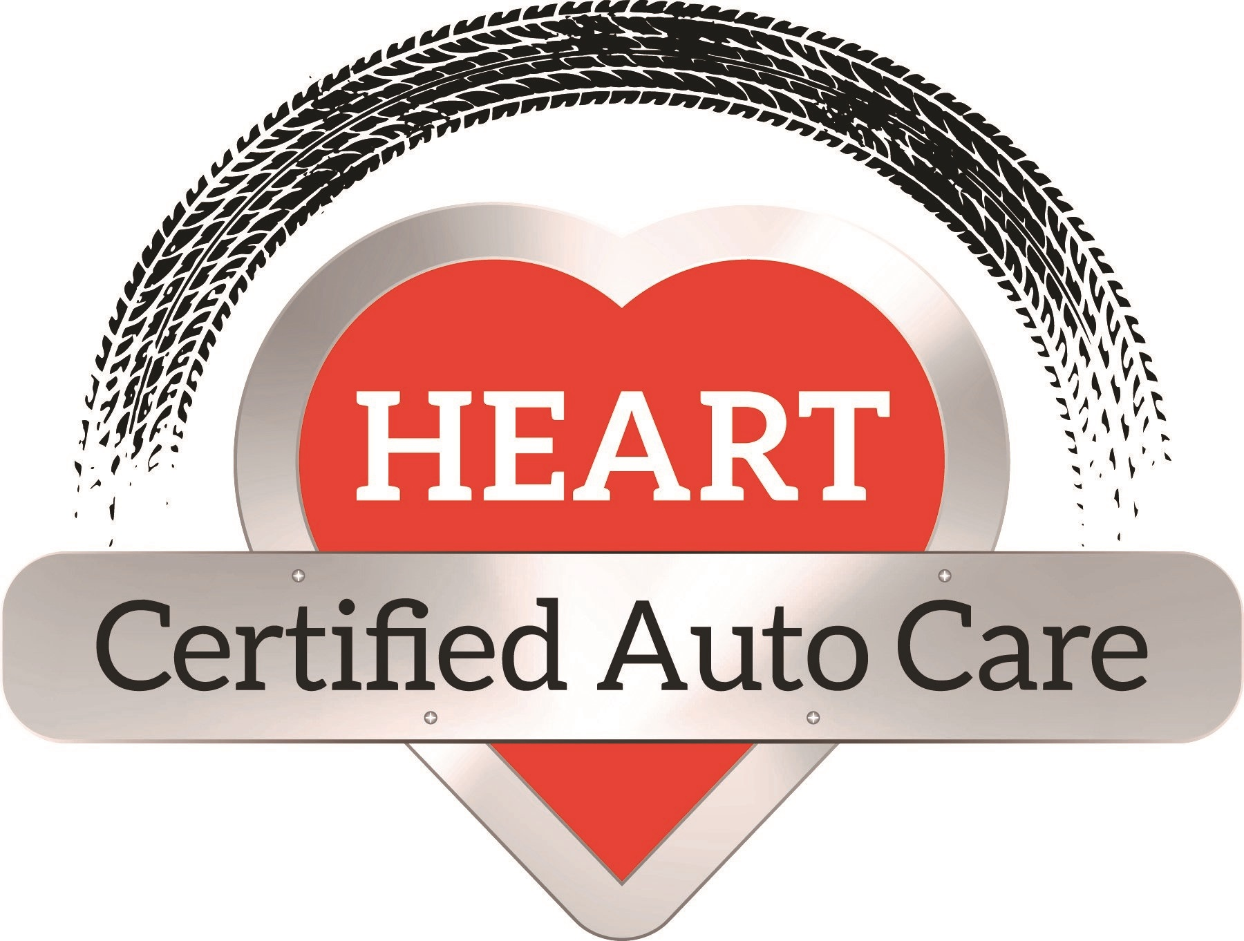 Heart Certified Auto Care logo