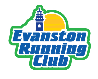 Evanston Running Club logo